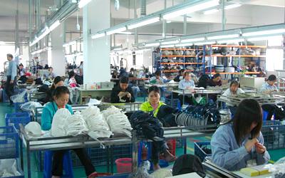 中国東莞工場